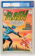 Silver Age (1956-1969):Superhero, The Flash #117 (DC, 1960) CGC NM 9.4 Off-white pages....