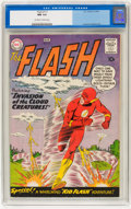 Silver Age (1956-1969):Superhero, The Flash #111 (DC, 1960) CGC NM 9.4 Off-white to white pages....