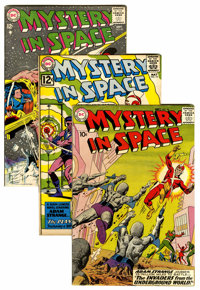 Mystery in Space Group (DC, 1959-63).... (Total: 5 Comic Books)