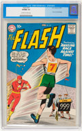 Silver Age (1956-1969):Superhero, The Flash #107 (DC, 1959) CGC VF/NM 9.0 Off-white to white pages....
