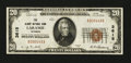 National Bank Notes:Wyoming, Laramie, WY - $20 1929 Ty. 1 The Albany NB Ch. # 3615. ...