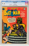 Golden Age (1938-1955):Superhero, Batman #69 (DC, 1952) CGC NM 9.4 White pages....