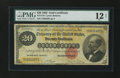 Large Size:Gold Certificates, Fr. 1178 $20 1882 Gold Certificate PMG Fine 12 Net....