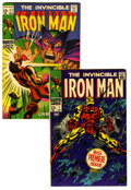 Silver Age (1956-1969):Superhero, Iron Man #1 and 11 Group (Marvel, 1968-69).... (Total: 2 Comic Books)