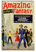 Silver Age (1956-1969):Science Fiction, Amazing Adult Fantasy #12 (Marvel, 1962) Condition: VG/FN....