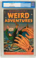 Golden Age (1938-1955):Horror, Weird Adventures #1 (P.L. Publishing Co., 1951) CGC VF 8.0Off-white to white pages....