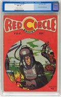 Golden Age (1938-1955):Superhero, Red Circle Comics #1 (Rural Home , 1945) CGC FN- 5.5 Off-white to white pages....