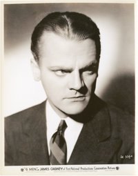 """James Cagney in """"G-Men"""" (First National, 1935). Stills (9) (8"""" X 10""""). ... (Total: 9 Items)"""