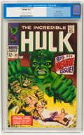 Silver Age (1956-1969):Superhero, The Incredible Hulk #102 (Marvel, 1968) CGC VF/NM 9.0 Cream to off-white pages....