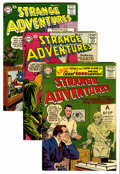 Silver Age (1956-1969):Science Fiction, Strange Adventures #74, 89, and 90 Group (DC, 1956-58) Condition: Average FN/VF.... (Total: 3 Comic Books)