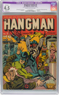 Golden Age (1938-1955):Superhero, Hangman Comics #3 (MLJ , 1942) CGC Apparent VG+ 4.5 Slight (A) Cream to off-white pages....