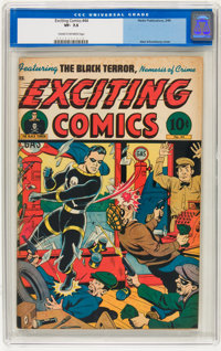Exciting Comics #44 (Nedor/Better/Standard, 1946) CGC VF- 7.5 Cream to off-white pages