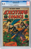 Golden Age (1938-1955):Superhero, Exciting Comics #36 (Nedor/Better/Standard, 1944) CGC VG+ 4.5 Cream to off-white pages....
