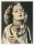 "Movie Posters:Drama, Greta Garbo by Ruth Harriet Louise (MGM, 1920s). Portrait Still (10"" X 13"").. ..."