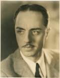 """Movie Posters:Miscellaneous, William Powell by Elmer Fryer (Warner Brothers, Early 1930s). Portrait Still (10.5"""" X 13.5"""").. ..."""