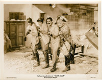 """The Marx Brothers in """"Duck Soup"""" (Paramount, 1933). Stills (5) (8"""" X 10""""). ... (Total: 5 Items)"""