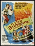 "Movie Posters:Adventure, Musketeers of the Sea (American International, 1960). French Grande(47"" X 63""). Adventure.. ..."