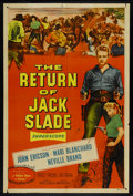 "Movie Posters:Western, The Return of Jack Slade (Allied Artists, 1955). One Sheet (27"" X 41""). Western.. ..."