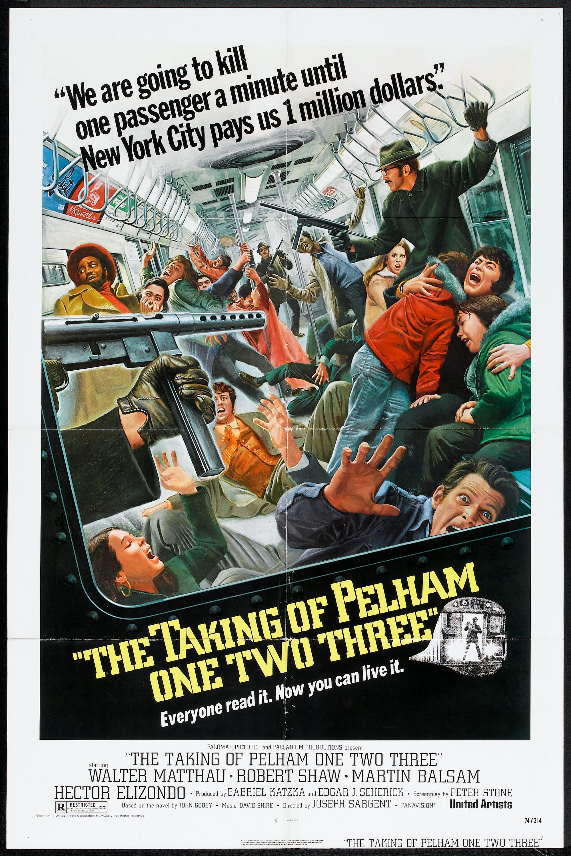 The Taking of Pelham One Two Three (United Artists, 1974). One | Lot #53388  | Heritage Auctions