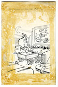 Original Comic Art:Covers, Warren Kremer Little Audrey TV Funtime #9 Cover Original Art(Harvey, 1964)....