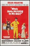 """Movie Posters:Comedy, Who's Been Sleeping in My Bed? (Paramount, 1963). One Sheet (27"""" X 41""""). Comedy.. ..."""