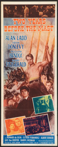 "Movie Posters:Adventure, Two Years Before the Mast (Paramount, 1946). Insert (14"" X 36"").Adventure.. ..."