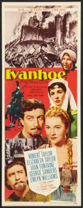 """Movie Posters:Adventure, Ivanhoe (MGM, 1952). Insert (14"""" X 36"""") and Still (8"""" X 10"""").Adventure.. ... (Total: 2 Items)"""
