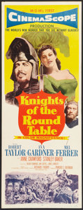 "Movie Posters:Adventure, Knights of the Round Table (MGM, 1953). Insert (14"" X 36"").Adventure.. ..."