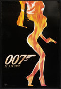 "Movie Posters:James Bond, The World is Not Enough (MGM, 1999). One Sheet (27"" X 40"") DSAdvance. James Bond.. ..."