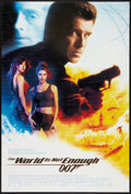 "Movie Posters:James Bond, The World is Not Enough (MGM, 1999). One Sheet (27"" X 40"") DS.James Bond.. ..."