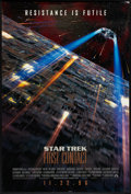 """Movie Posters:Science Fiction, Star Trek: First Contact (Paramount, 1996). One Sheet (27"""" X 40"""")DS Advance. Science Fiction.. ..."""