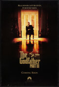 """Movie Posters:Crime, The Godfather Part III (Paramount, 1990). One Sheets (2) (27"""" X 40"""") DS Advance and Regular. Crime.. ... (Total: 2 Items)"""
