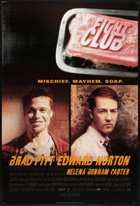 """Fight Club (20th Century Fox, 1999). One Sheet (27"""" X 40"""") DS Advance Style A. Action"""