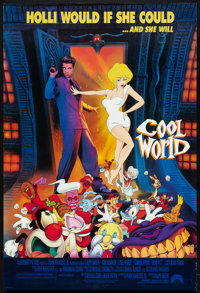 "Cool World (Paramount, 1992). One Sheet (27"" X 40"") DS. Animated"