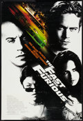 "Movie Posters:Action, The Fast and the Furious (Universal, 2001). One Sheet (27"" X 40"") DS. Action.. ..."