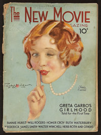 """The New Movie Magazine (December, 1929). Magazine (128 Pages, 8.5"""" X 12""""). Miscellaneous"""