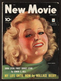 "The New Movie Magazine (March, 1934). Magazine (106 Pages, 8.5"" X 11.75""). Miscellaneous"