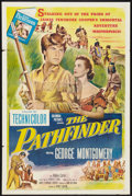 "Movie Posters:Adventure, The Pathfinder (Columbia, 1953). One Sheet (27"" X 41""). Adventure....."