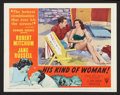 "Movie Posters:Crime, His Kind of Woman (RKO, 1951). Lobby Card Set of 8 (11"" X 14"").Crime.. ... (Total: 8 Items)"