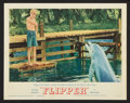 "Movie Posters:Adventure, Flipper (MGM, 1963). Lobby Card Set of 8 (11"" X 14""). Adventure..... (Total: 8 Items)"