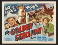 """The Golden Stallion (Republic, 1949). Lobby Card Set of 8 (11"""" X 14""""). Western. ... (Total: 8 Items)"""