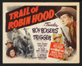 """Movie Posters:Western, Trail Of Robin Hood (Republic, 1950). Lobby Card Set of 8 (11"""" X14""""). Western.. ... (Total: 8 Items)"""