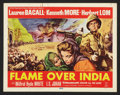 "Movie Posters:Adventure, Flame Over India (20th Century Fox, 1960). Lobby Card Set of 8 (11""X 14""). Adventure.. ... (Total: 8 Items)"