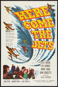 "Movie Posters:War, Here Come the Jets (20th Century Fox, 1959). One Sheet (27"" X 41"")and Lobby Card Set of 8 (11"" X 14""). War.. ... (Total: 9 Items)"