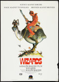"Movie Posters:Animated, Wizards (20th Century Fox, 1977). One Sheet (27"" X 41"") Style A.Animated.. ..."