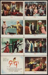 "Gigi (MGM, 1958). Lobby Card Set of 8 (11"" X 14""). Musical. ... (Total: 8 Items)"