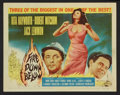 "Movie Posters:Adventure, Fire Down Below (Columbia, 1957). Lobby Card Set of 8 (11"" X 14"").Adventure.. ... (Total: 8 Items)"