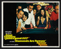 """Movie Posters:James Bond, Diamonds Are Forever (United Artists, 1971). Lobby Card Set of 8(11"""" X 14""""). James Bond.. ... (Total: 8 Items)"""