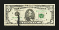 Error Notes:Ink Smears, Fr. 1970-D $5 1969A Federal Reserve Note. Fine.. ...