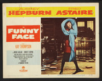 """Funny Face (Paramount, 1957). Lobby Cards (3) (11"""" X 14""""). Romance. ... (Total: 3 Items)"""